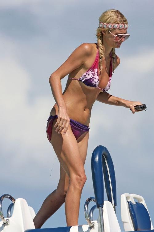 Paris Hilton Haggard Skeletor