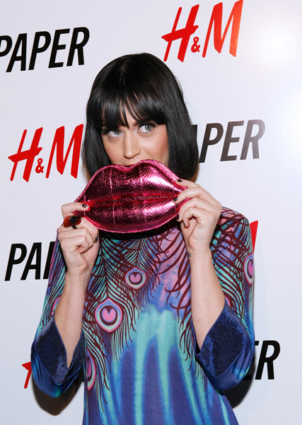 Katy Perry at Papermag's mob