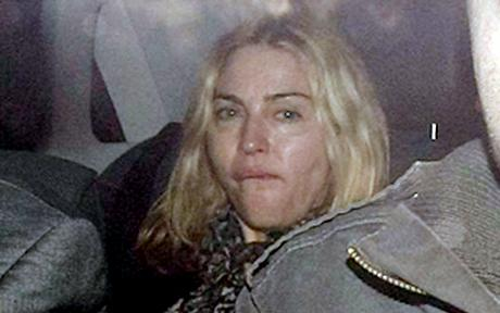 Madonna Lands at Heathrow in London After Being Denied new life of Mercy James