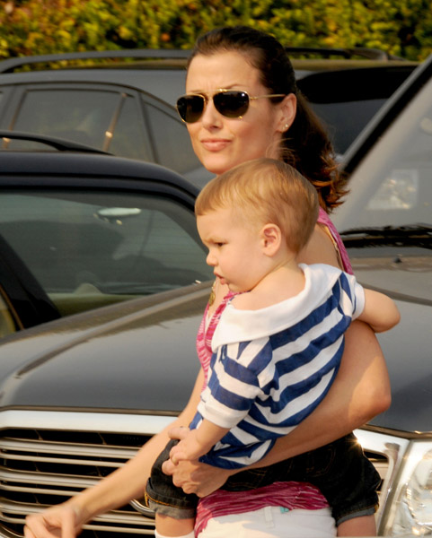 Bridget Moynahan and her baby son John Edward Pictures Photos