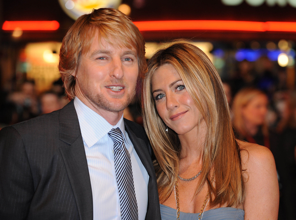Owen Wilson and Jennifer Aniston